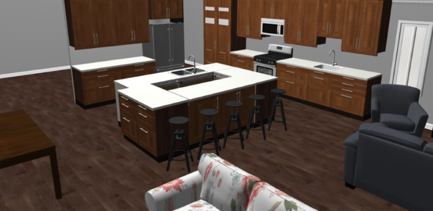 Building Our Kitchen Cabinets – A Hybrid